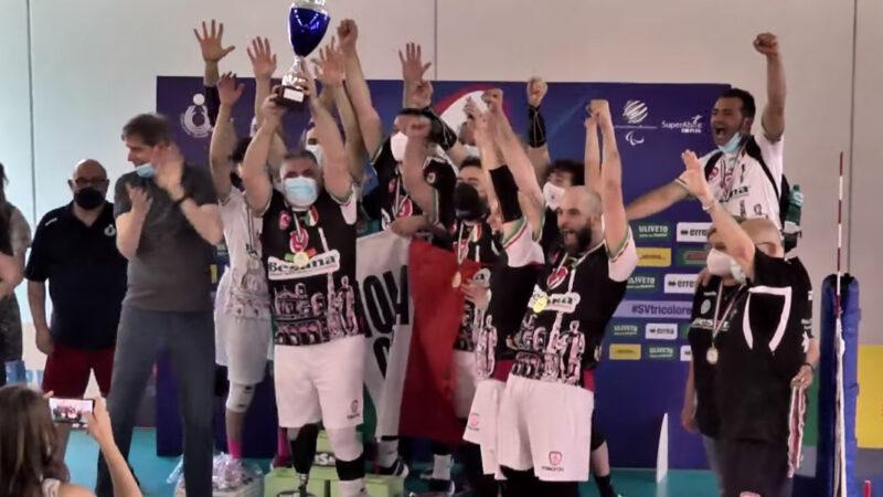 Sitting Volley: Il Nola si conferma campione d'Italia